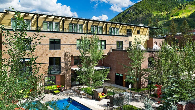 limelight hotel aspen skiing colorado
