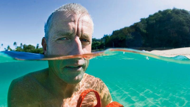 Mark Cunningham portraits Waimea Bay 08.07.05 bodysurfers