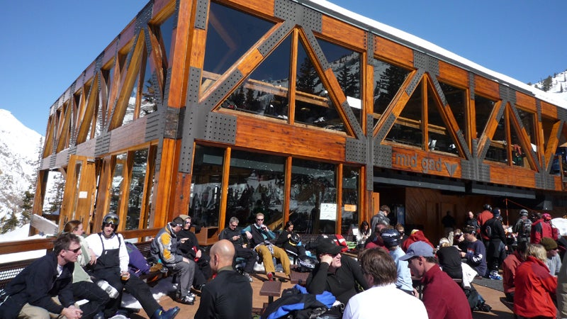mid gad restaurant snow sports snowbird utah skiing