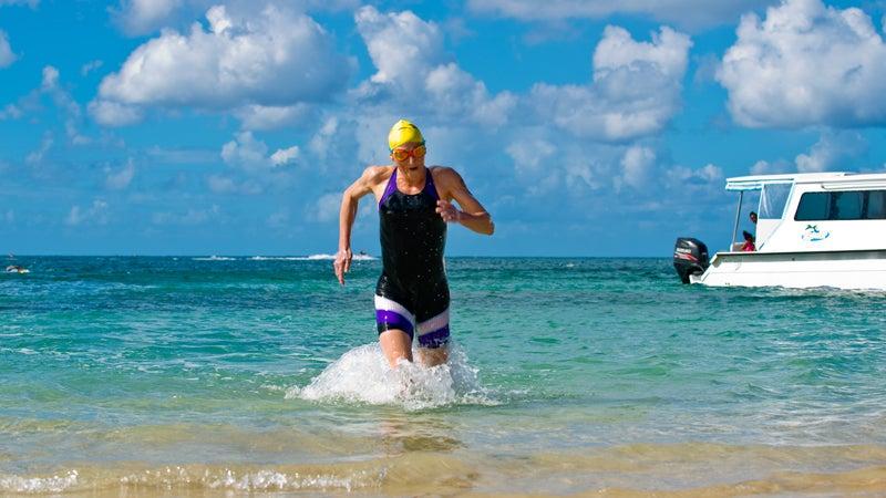 """cross channel"" Athelete Beach Beaches Caribbean Charlestown Destination Indies Island Kayak Kitts Nevis Ouallie Reggae Saint Snorkling Swimmer Tourism West race swim vacation"