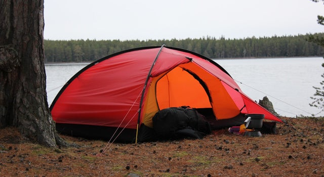 A new silicone-coated Hilleberg tent