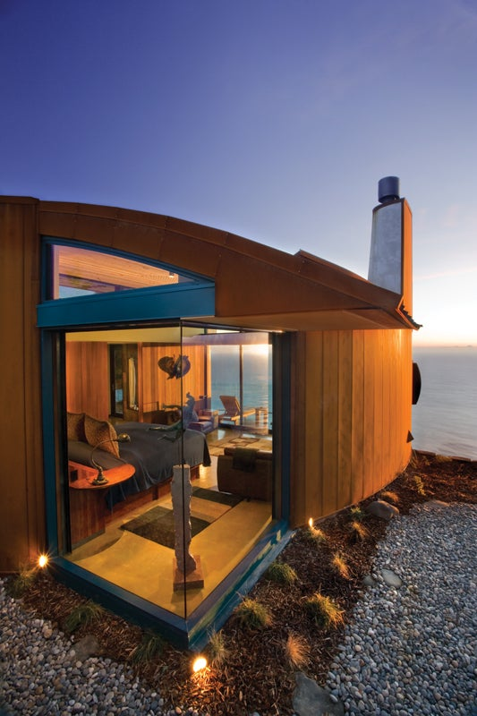 Chris Clayton Post Ranch Inn Big Sur California farm to table outside outside magazine outside online base camp escapes san francisco stainless steel hot tub john cox cliff house
