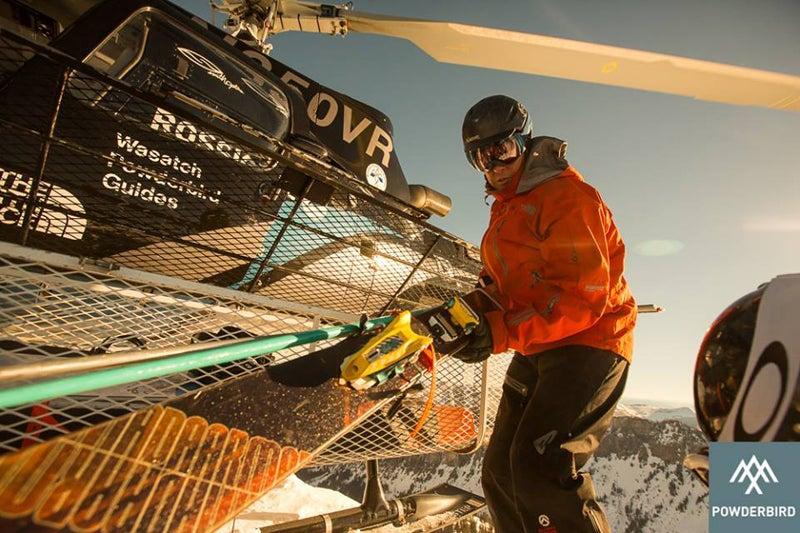 powderbird heli skiing skiing snow sports snowbird utah