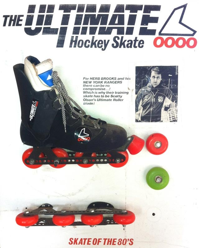 Early Rollerblades/Early Rollerblade Advertisement