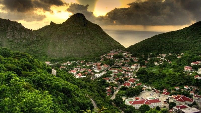 saba islands travel school of medicine mountain. nature