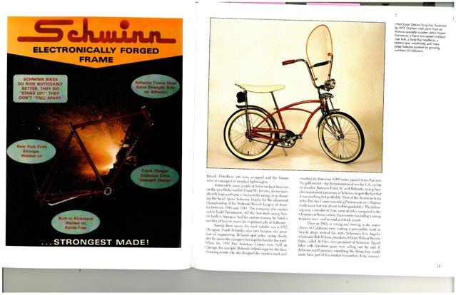 An early Schwinn Stingray bike