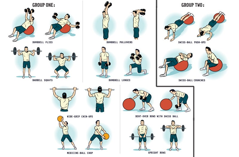 To see a larger version of these exercises, see this page.