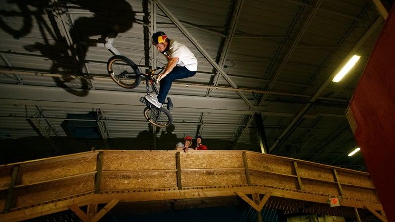 indoor bike park joyride 150 mountain bike