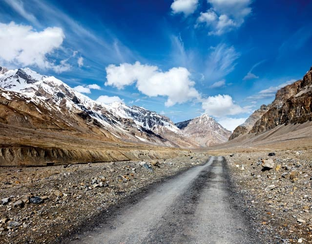 Himalayan mountain road