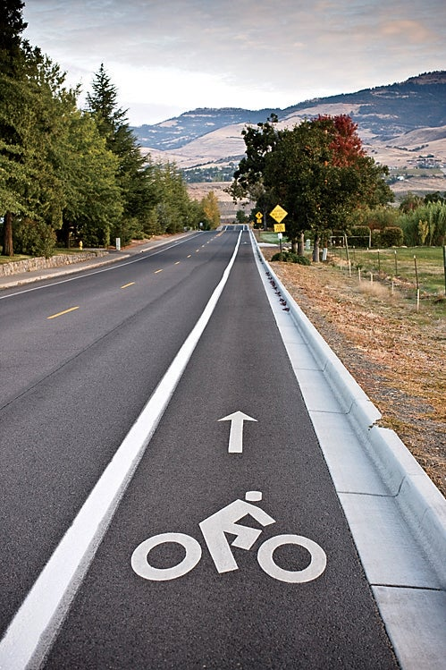 Share the road in Ashland.