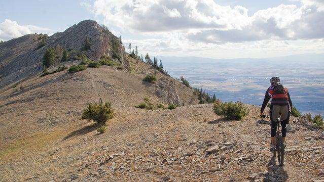 montana trail running Bridger Ridge Run Montana trail running marathon