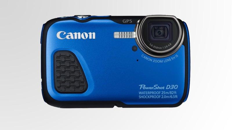 canon Canon PowerShot D30 waterproof outside magazine outside online beach essentials