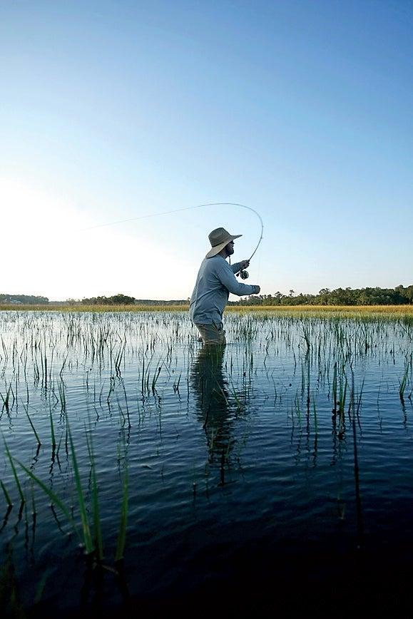 Charleston fly-fishing