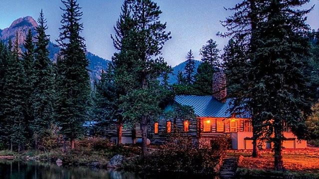 ranch at emerald valley lodges cabin porn woodland park colorado