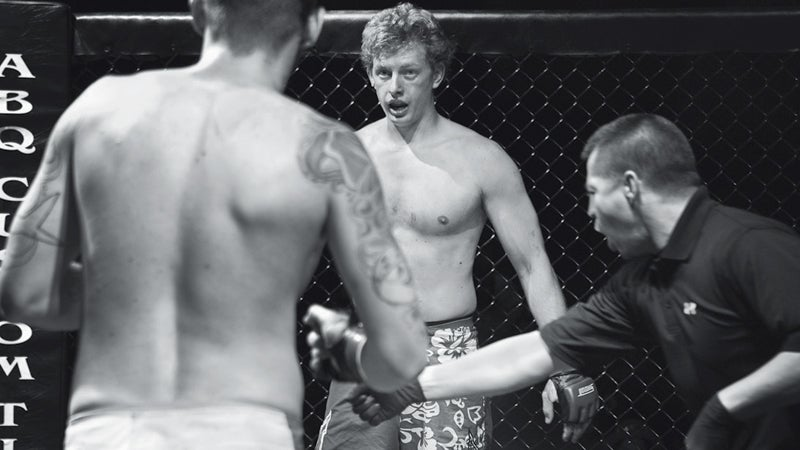 Cage Fight Ryan Krough UFC Ultimate fight