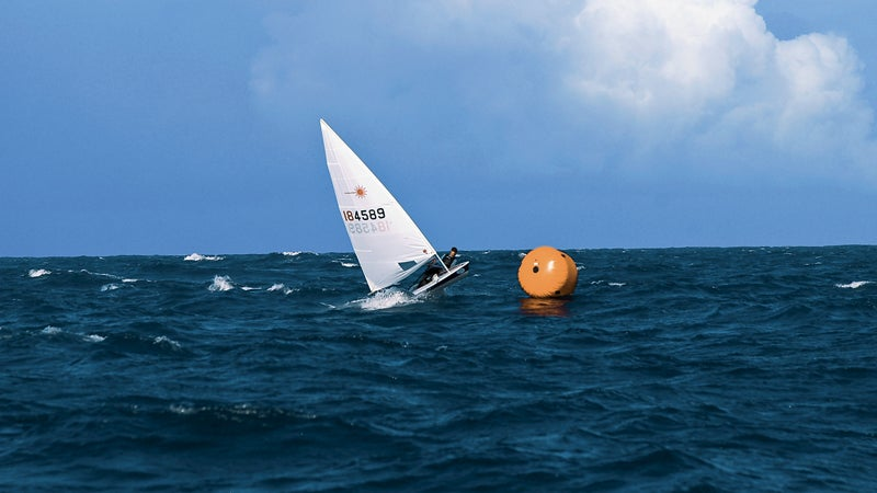 tim zimmermann solo sailboat boat crew laswer sailor laser training center cabarete sailing outside outside magazine that which does not kill you Zero to Hero