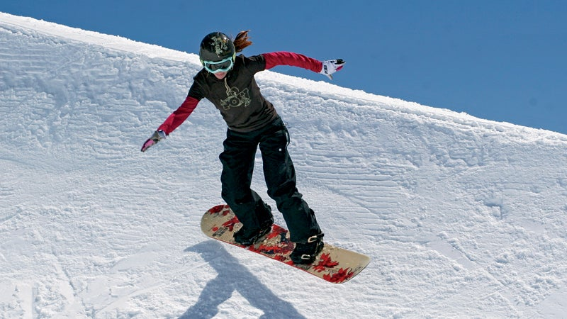 outside outside magazine alicia carr that which does not kill you Zero to Hero snowboarding catching air snowboard pipe