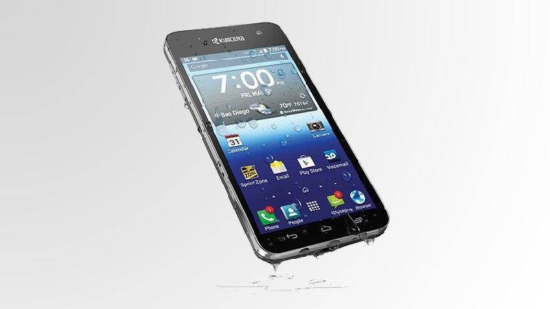 Sprint Kyocera Hydro Vibe waterproof phone outside magazine outside online beach essentials