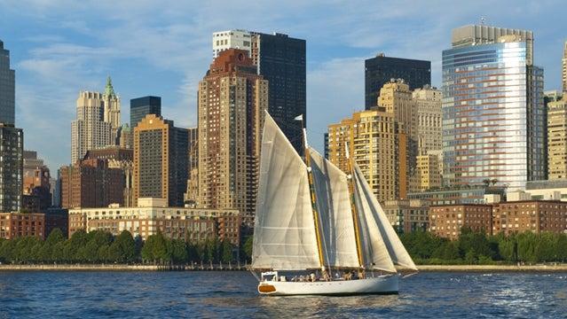 hudson river sailing new york new york city NYC