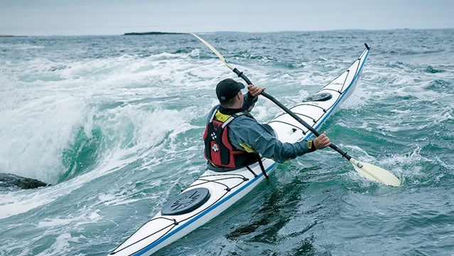 sea kayaking popham beach maine