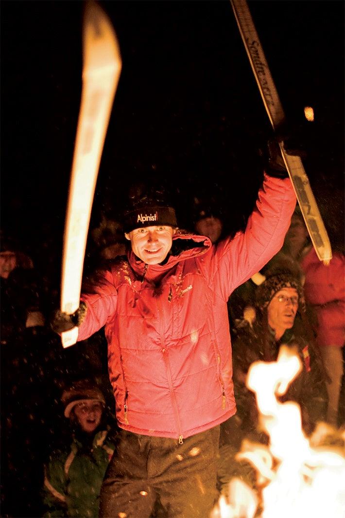 Ullr Fest breckenridge outside magazine ski burn