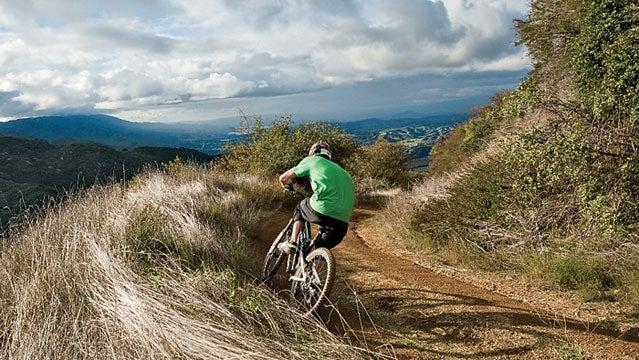knapps castle trail biking bikes cycling singltrack mountain biking