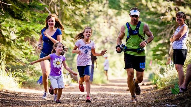 Adrian Dowds Eagleson Mark Tahoe Tahoe Rim Trail running. ultra marathon