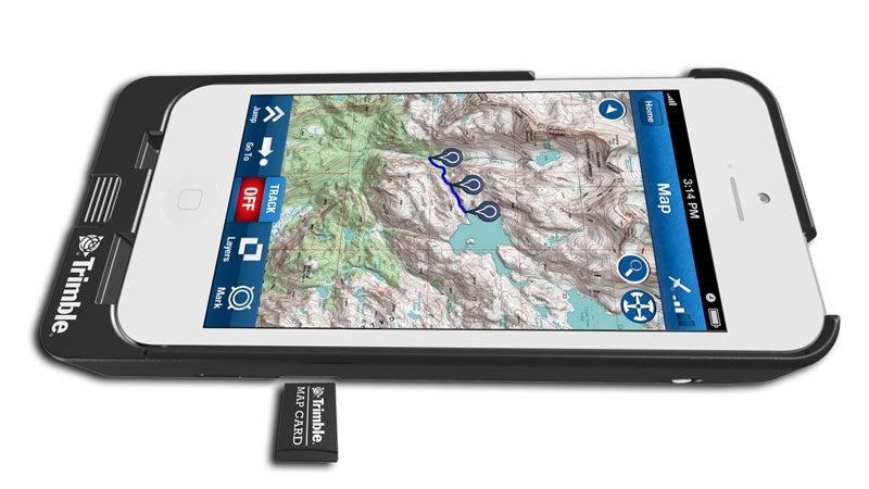 Trimble Navigator GPS Phone