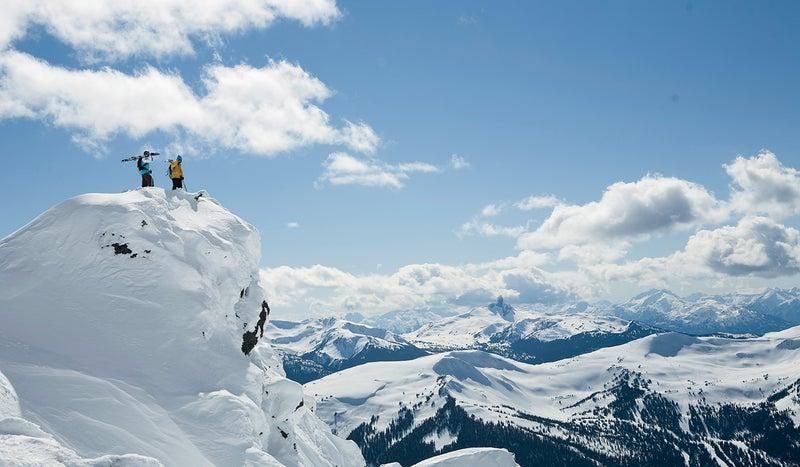 adam clark dan treadway whistler landscape ski skiing snow mountains Billy Poole outside magazine