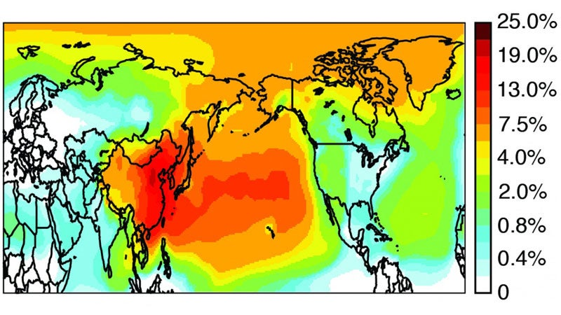 black carbon pollution map study science