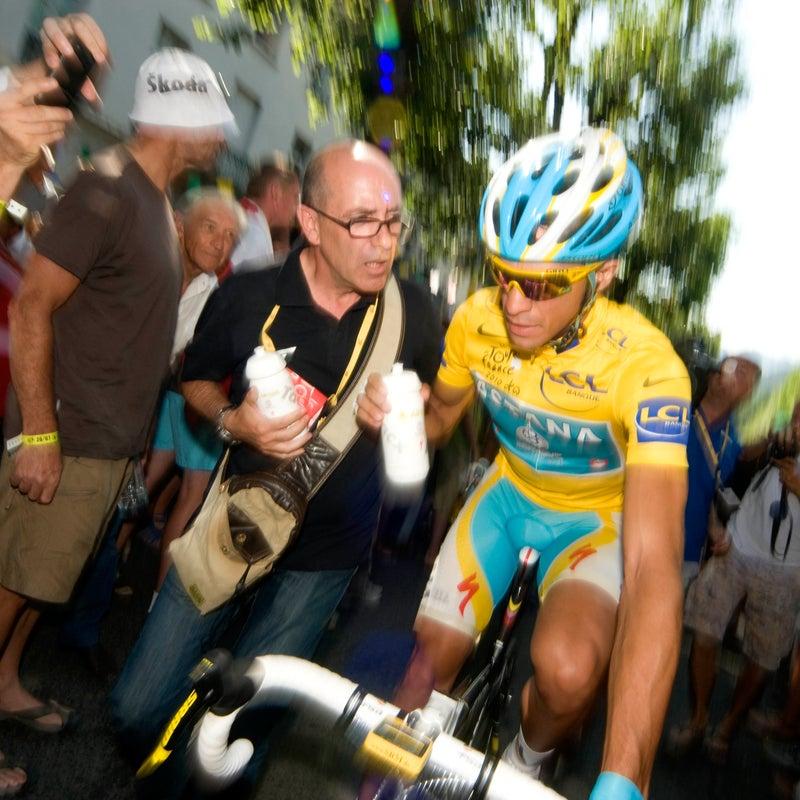 alberto contador andy schleck tour de france cycling
