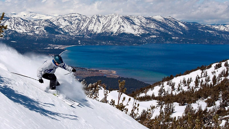 heavenly california travel skiing