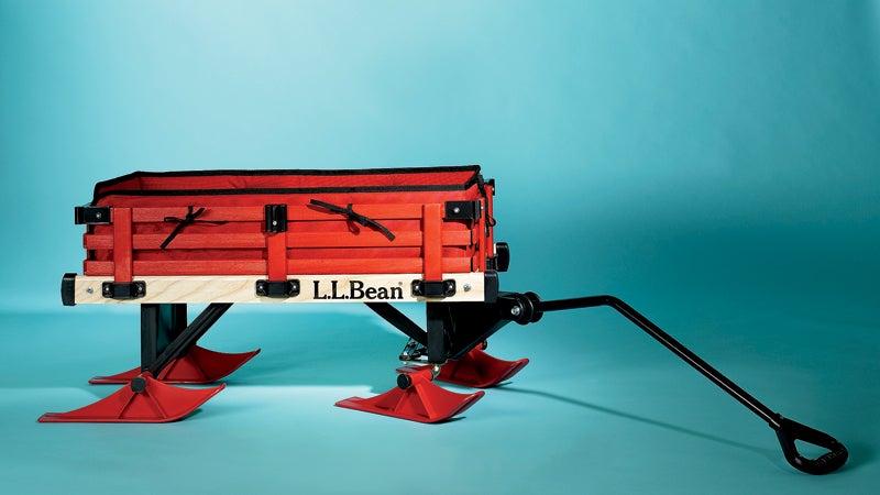 L.L. Bean's Rambler Winter Wagon Set.