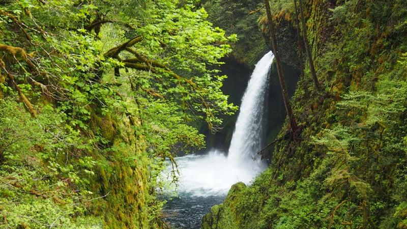 Metlako falls illegal photos