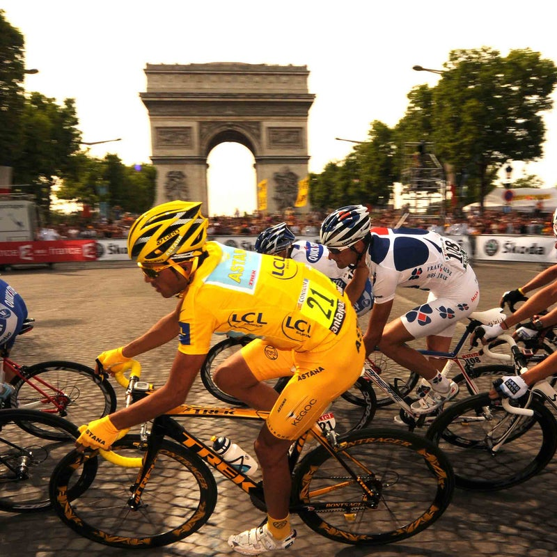trek alberto contador tour de france cycling