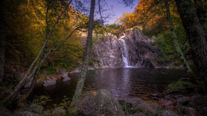 greek adventure water falls