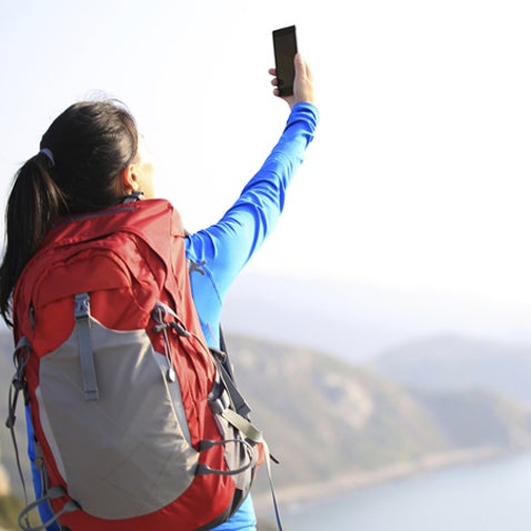 OutsideOnline best apps Smartphone summer camping trip woods connected grid stay no service off grid selfie backpack trail applications iPhone Android free