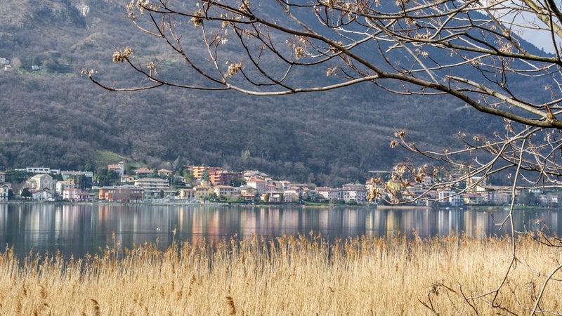 OutsideOnline Italy Guarda lake village Alps Swiss inn hikes