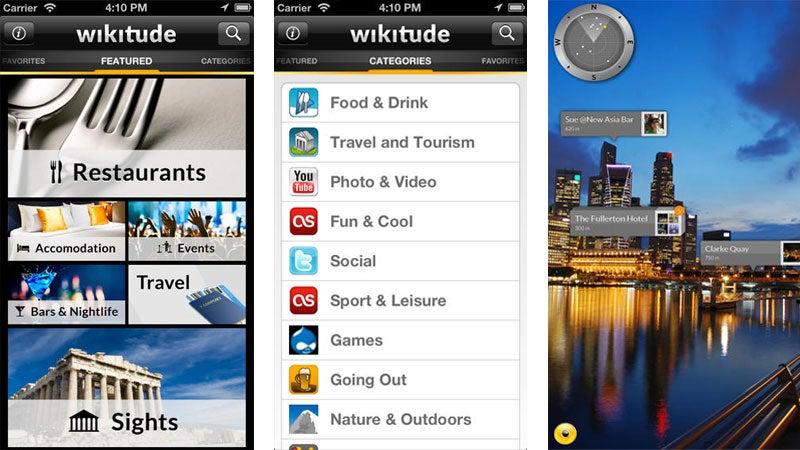 Wikitude app on iOS