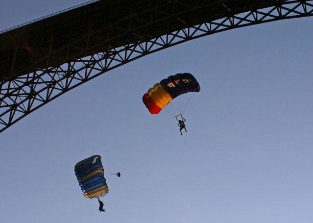 Perrine BASE Jump