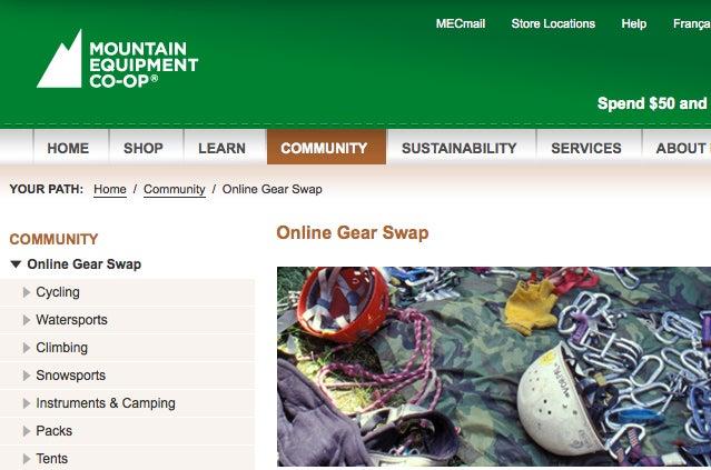 MEC Online Gear Swap