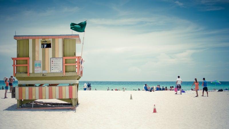 OutsideOnline Miami Beach Marlin Hotel beach best high-tech technology amenity hotels Miami Florida