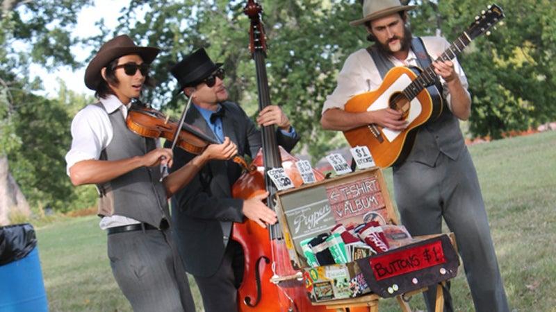 OutsideOnline Roots N Blues N BBQ Festival Missouri Columbia string grass performance