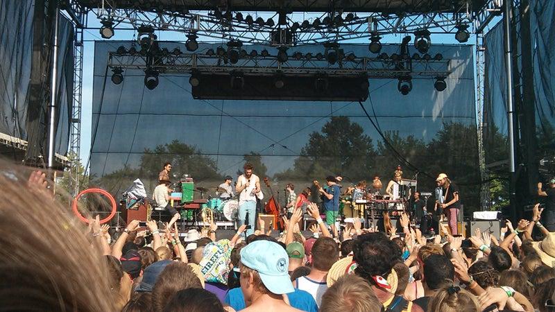 OutsideOnline best summer music festival Firefly Delaware Edward Sharpe & The Magnetic Zeros stage
