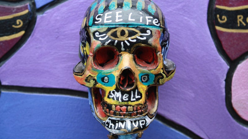 OutsideOnline Outside Lands Music and Arts Fe San Francisco skull painted