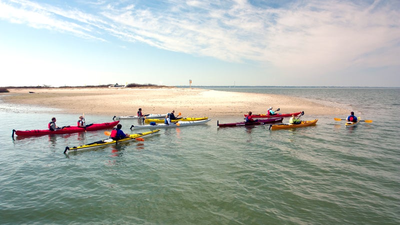 Kayaking with Coastal Expeditions.