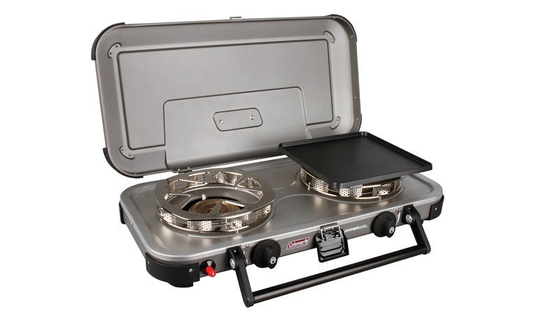 Coleman stove car camping outside families labor day