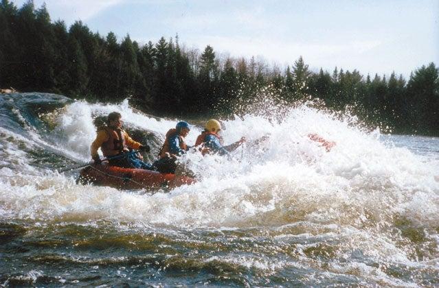 rafting hudson river
