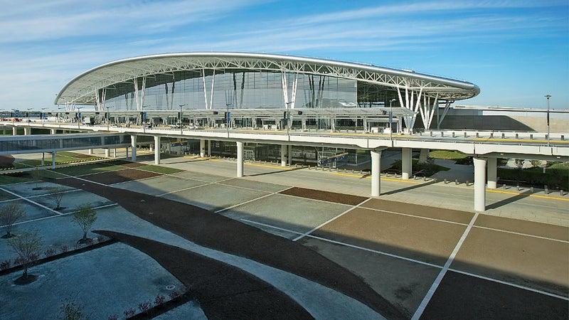 Indianapolis International Airport.