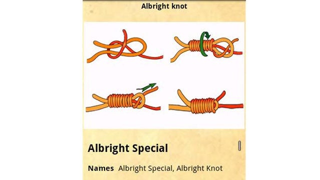 KnotsGuide by SusaSoftX knots knot tying